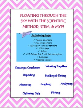 Paper Airplane Scientific Method with STEM component (with