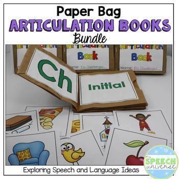 Articulation: Paper Bag Books {BUNDLE}