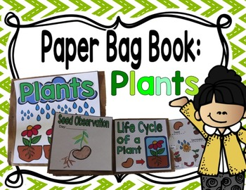 Paper Bag Book : Plants
