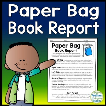 Paper Bag Book Report: Decorate a Paper Bag Based on a Fic