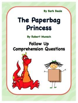 Paper Bag Princess Language Activities - 8 pages
