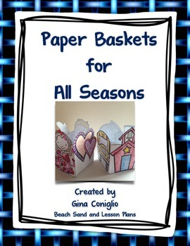 Paper Baskets for All Seasons