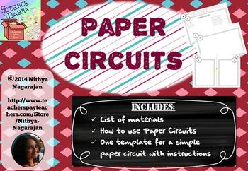 Paper Circuits - Sneak Peek - Freebie!!!
