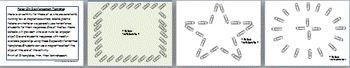 Paper Clip Reinforcement Templates