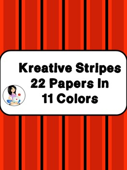 Paper Kreative Stripes FREEBIE
