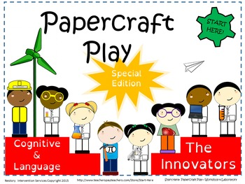 Lab and Workshop Play - Picture Book, Activities, Settings