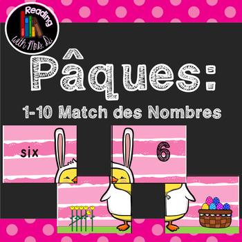Paques: 1-10 Match des Nombres