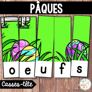 Pâques - French Easter -16 puzzles