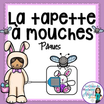Pâques (Paques) Easter Themed Game in French - La tapette