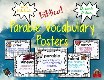 Parable Vocabulary Posters