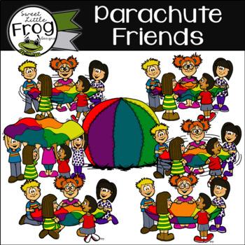 Parachute Friends Clip Art (c) Shaunna Page 2015