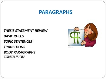 Paragraph Basics-review