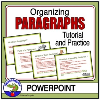 Paragraph Organization PowerPoint