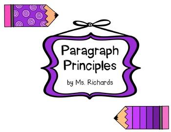 Paragraph Principles