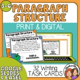 Paragraph Structure Task Cards