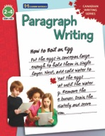 Paragraph Writing - Canadian Writing Series Gr. 2-4