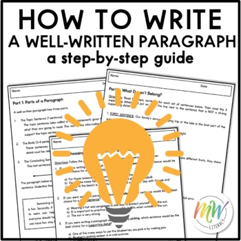 Paragraph Writing: Guide to a Well-Written Paragraph