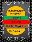 Paragraph Writing: Hamburger Poster and Pre-Write