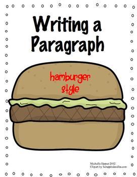 Paragraph Writing Hamburger Style