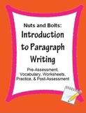 Paragraph Writing Introduction: Skill Sheets