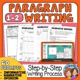 Paragraph Writing Practice | Paragraph of the Week for Grades 1-2
