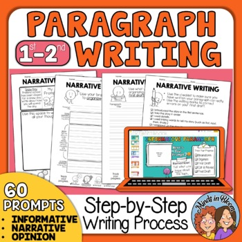 Paragraph Writing Practice   Paragraph of the Week for Grades 1-2