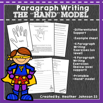 Paragraph Writing: Using the Hand Model