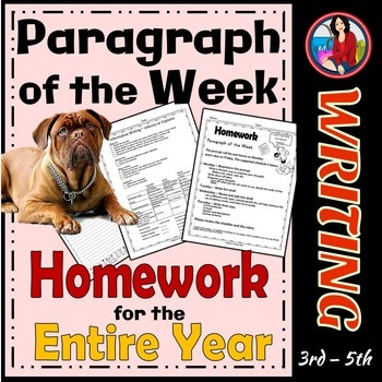 Paragraph Writing | Paragraph of the Week | Informative, N