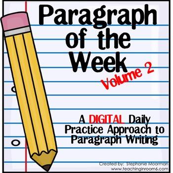Paragraph of the Week DIGITAL Volume 2