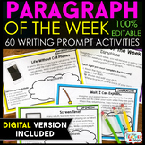 Paragraph of the Week | Paragraph Writing Practice