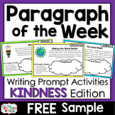 Paragraph of the Week - KINDNESS Edition - #kindnessnation