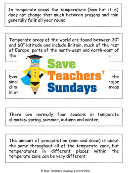 Paragraphing Activity (text about weather and climate) (2