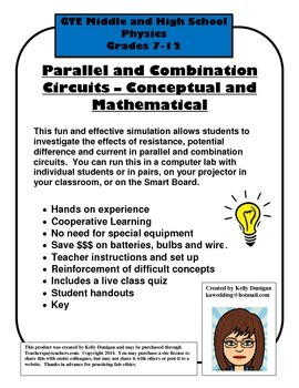 Parallel Circuit Building That Works Every time - Simulation Lab