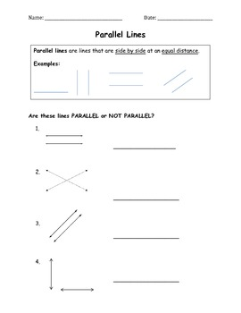 Parallel Lines Classwork