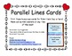 FREE Parallel Lines Poster Cards (...for Valentine's Day o