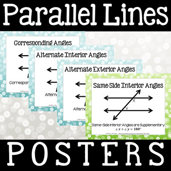 Parallel Lines Posters