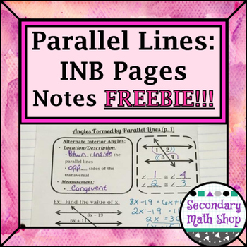Parallel Lines -Types & Properties of the Angles Formed IN