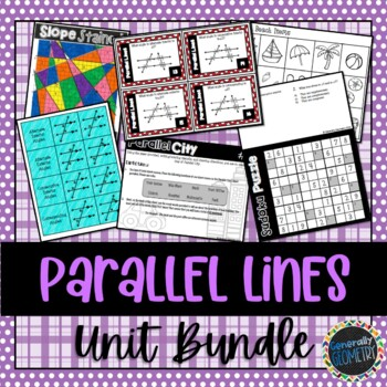 Parallel Lines and Transversals Bundle; Geometry