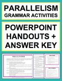 Parallel Sentence Structure - Grammar Worksheets, Powerpoi