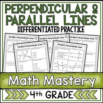 Parallel and Perpendicular Lines (4th Grade Common Core Ma