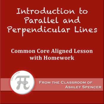 Introduction to Parallel and Perpendicular Lines (Lesson P
