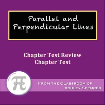 Parallel and Perpendicular Lines Test