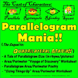 Parallelogram Mania! Finding Area and Perimeter of Paralle