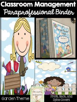 Paraprofessional Binder Covers