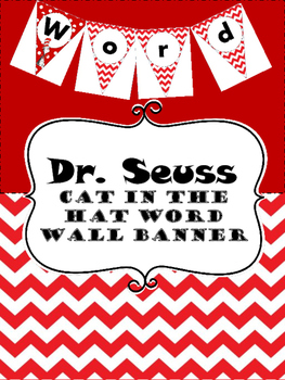 Pared De Palabras (Cat In the Hat)