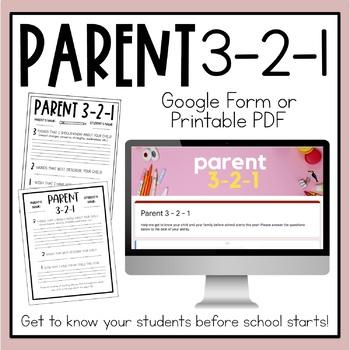 Parent 3-2-1