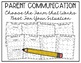 Parent Communication Binder - Editable Chevron and Chalkboard