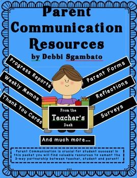 Parent Communication Resources