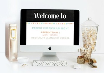 Parent Curriculum Night Powerpoint Presentation Template