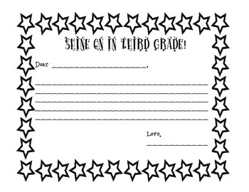 Parent First Day Note